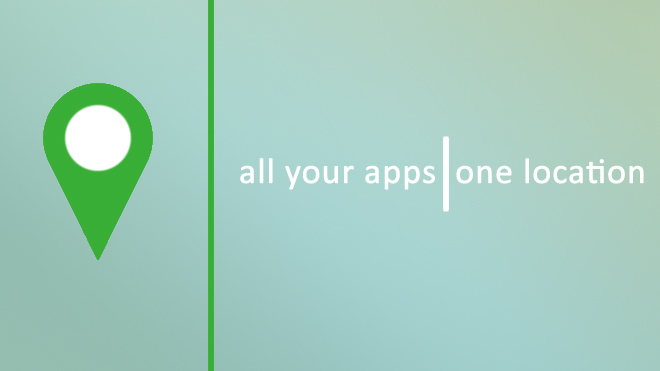 All your apps | One location